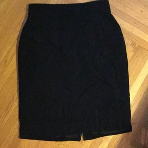 High waist black skirt 14 Dana Buchman